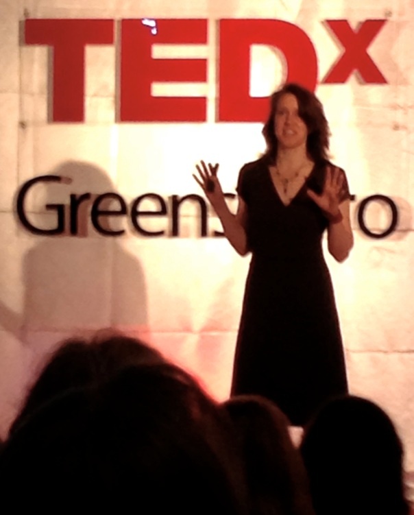 Cyndi-on-TEDx-Stage
